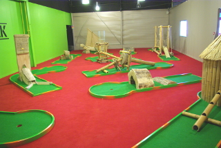 mini-golf interieur