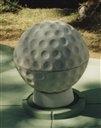 Balle de mini golf en béton pour parcours de mini golf