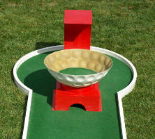 Obstacle mini golf: Retour