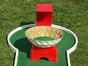 obstacle pour mini golf modulable : Le Retour
